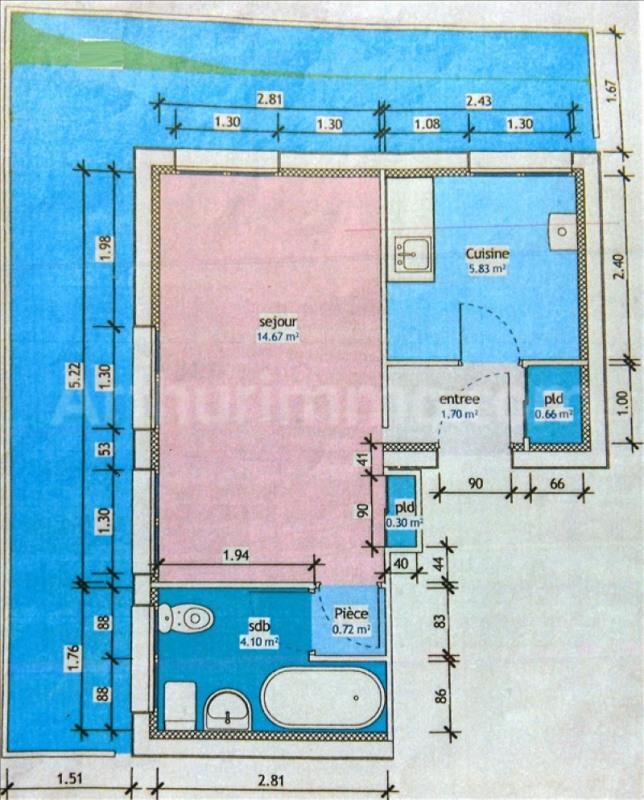Sale apartment Frejus-plage 114000€ - Picture 7