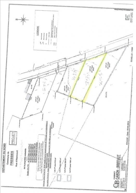 vente terrain 224 fressies 834 m 178 224 63 380 euros cabinet byzance