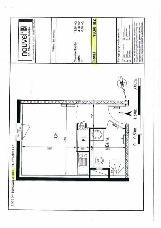 Location appartement Villeurbanne 383€cc - Photo 5