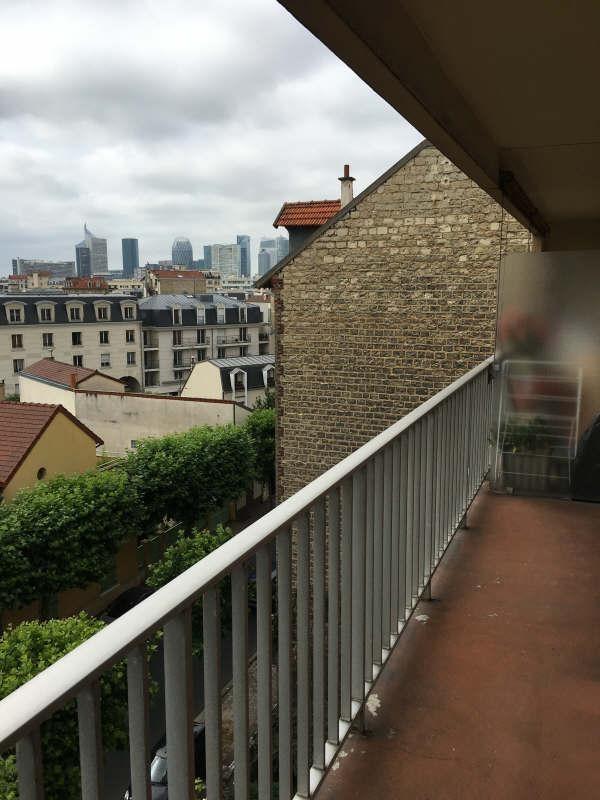 Rental apartment La garenne colombes 680€ CC - Picture 1