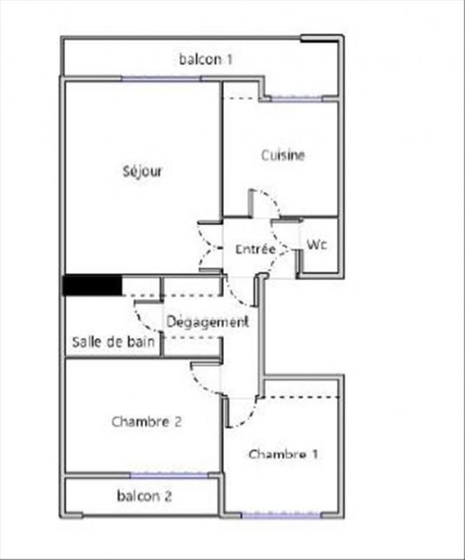 Sale apartment Toulouse 155000€ - Picture 8