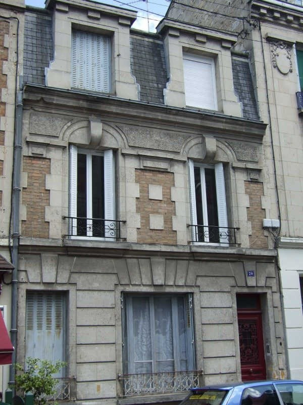 Rental apartment Soissons 491€ CC - Picture 1