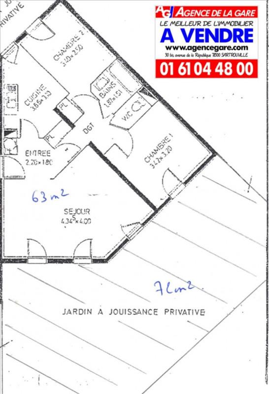 Vente appartement Sartrouville 212000€ - Photo 5