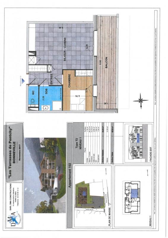 Vente appartement Bonneville 162000€ - Photo 2