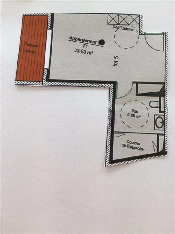 Venta  apartamento Charbonnieres les bains 182682€ - Fotografía 2