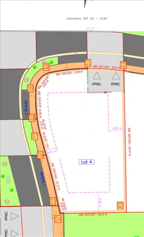 Verkauf grundstück Salon de provence 205000€ - Fotografie 2
