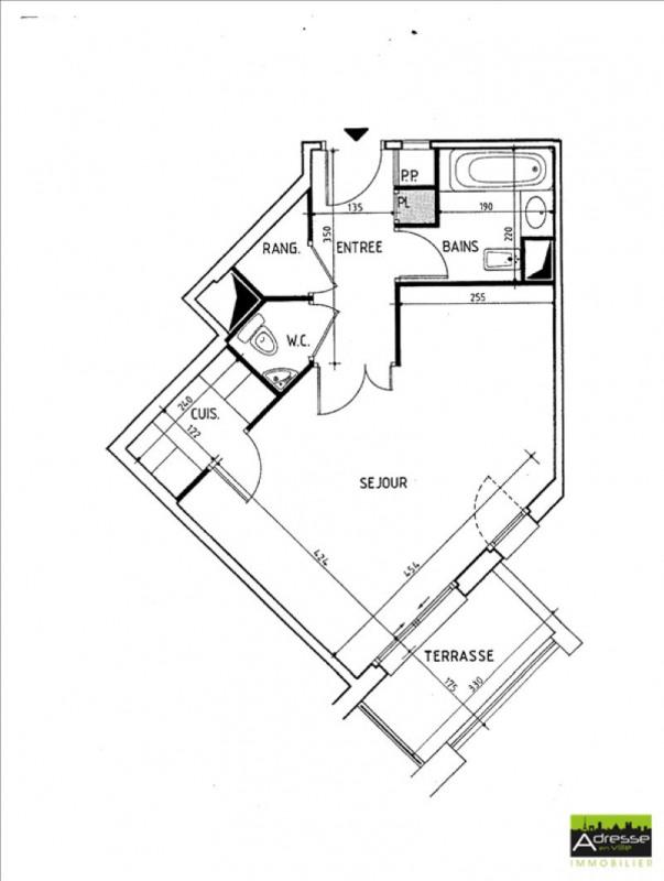 Sale apartment Levallois perret 175000€ - Picture 1