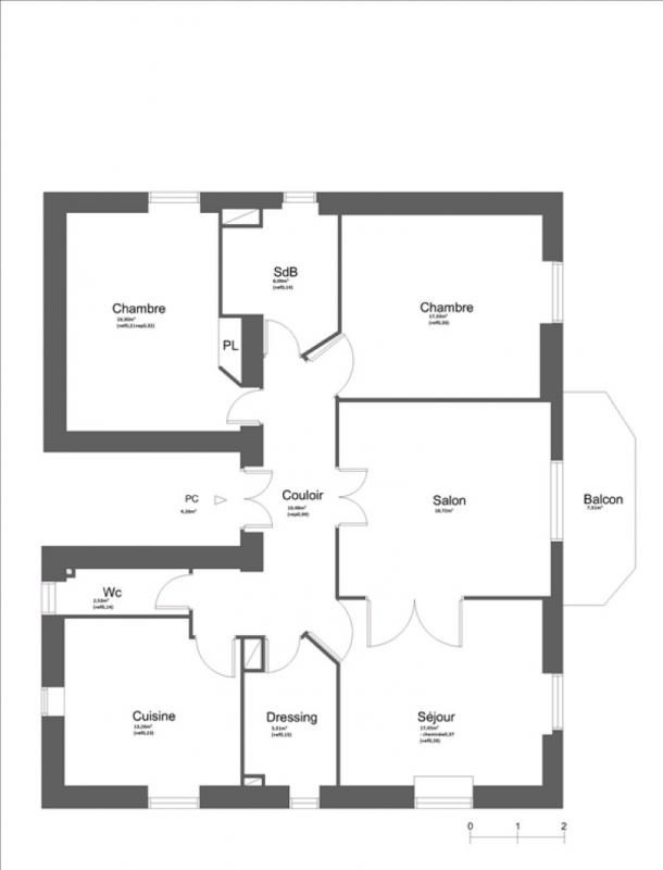 Deluxe sale apartment Nice 580 000€ - Picture 2