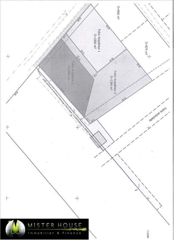 Verkoop  stukken grond Montauban 65000€ - Foto 3
