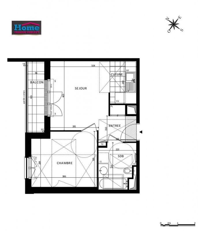 Vente appartement Rueil malmaison 296000€ - Photo 5