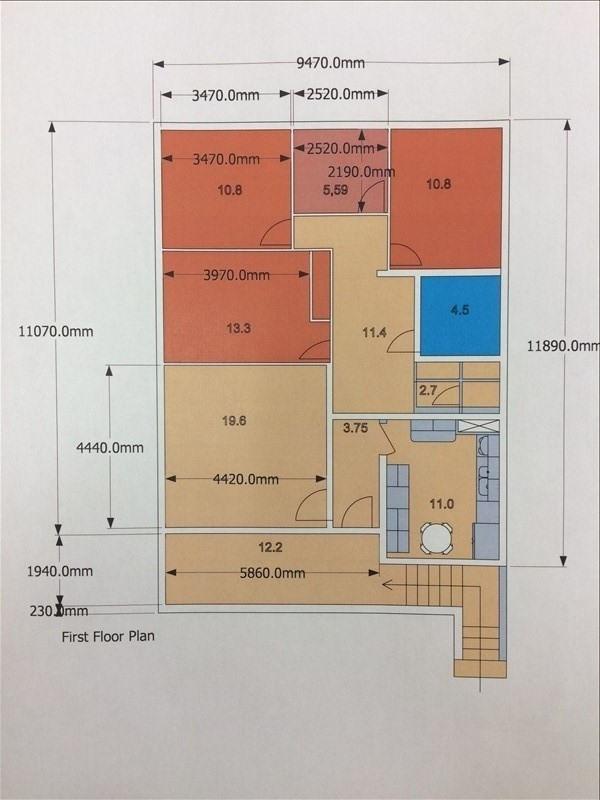 Vente immeuble Villeneuve le roi 515000€ - Photo 1