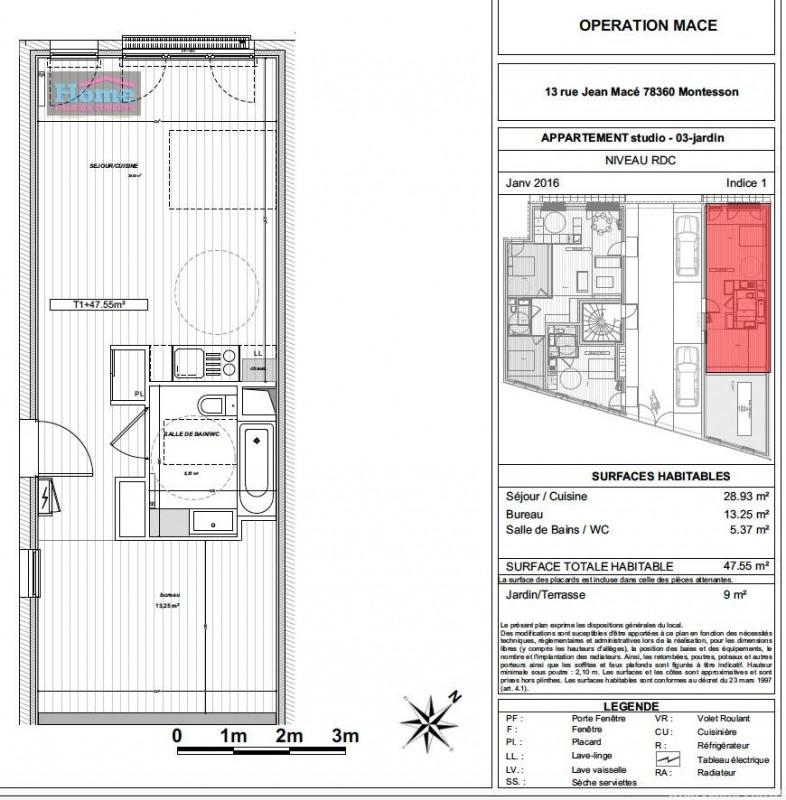 Vente appartement Montesson 234820€ - Photo 5