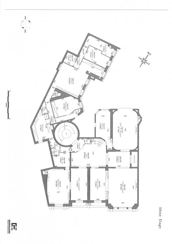 Revenda residencial de prestígio apartamento Paris 16ème 5750000€ - Fotografia 25