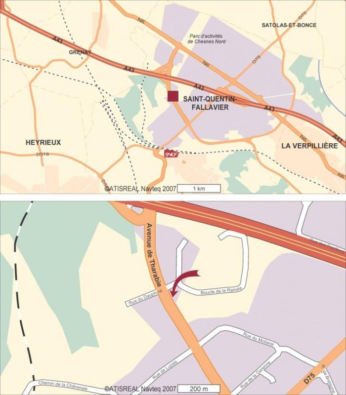 Location Bureau Saint-Quentin-Fallavier 0