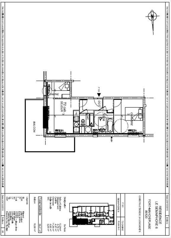 Vente appartement Fort mahon plage 168000€ - Photo 4