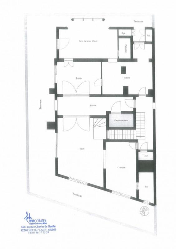 Vente de prestige appartement Neuilly sur seine 1980000€ - Photo 7