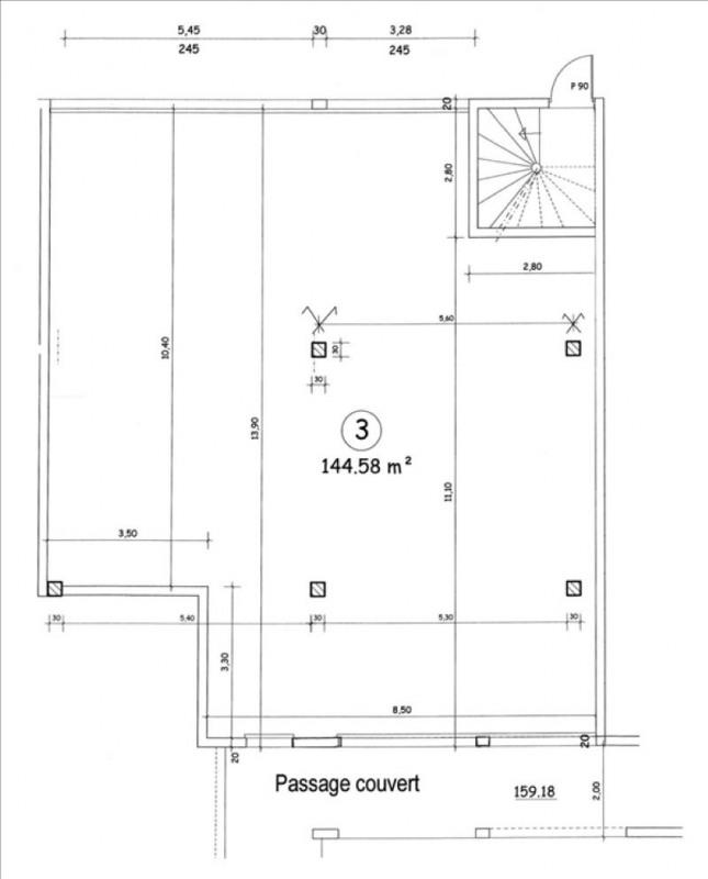 Sale empty room/storage Villejust 210000€ - Picture 3
