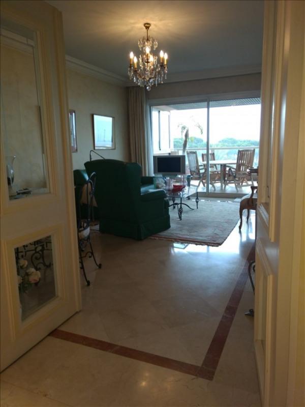 Revenda residencial de prestígio apartamento Le golfe juan 495000€ - Fotografia 2