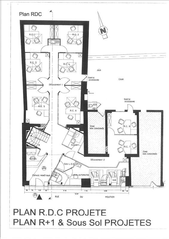 Rental empty room/storage Aubervilliers 3600€ HT/HC - Picture 2