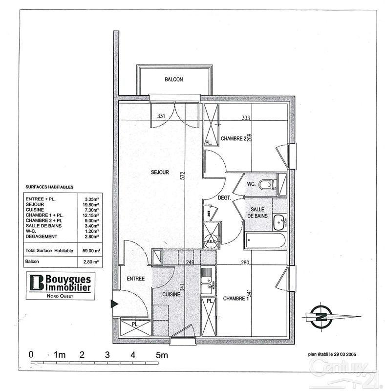 Vente appartement Touques 169000€ - Photo 10