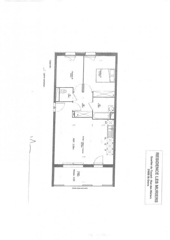 Rental apartment Saint orens de gameville 740€ CC - Picture 3