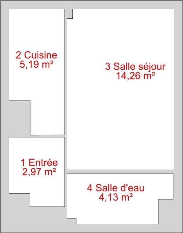Vente appartement Paris 15ème 289000€ - Photo 1