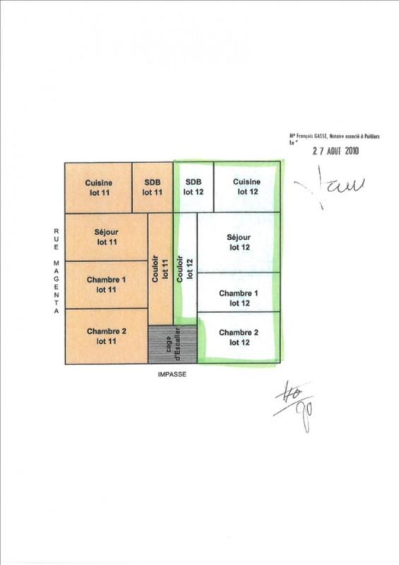 Vente appartement Poitiers 99000€ - Photo 5