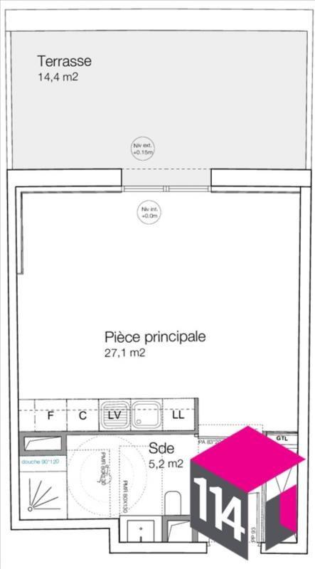 Produit d'investissement appartement Castries 127000€ - Photo 4