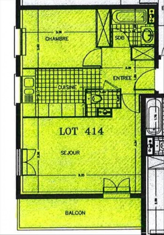 Location appartement Villiers sur marne 863€ CC - Photo 2