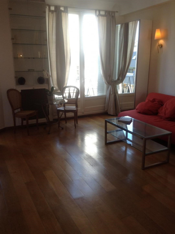 Rental apartment Paris 16ème 1 600€ CC - Picture 2