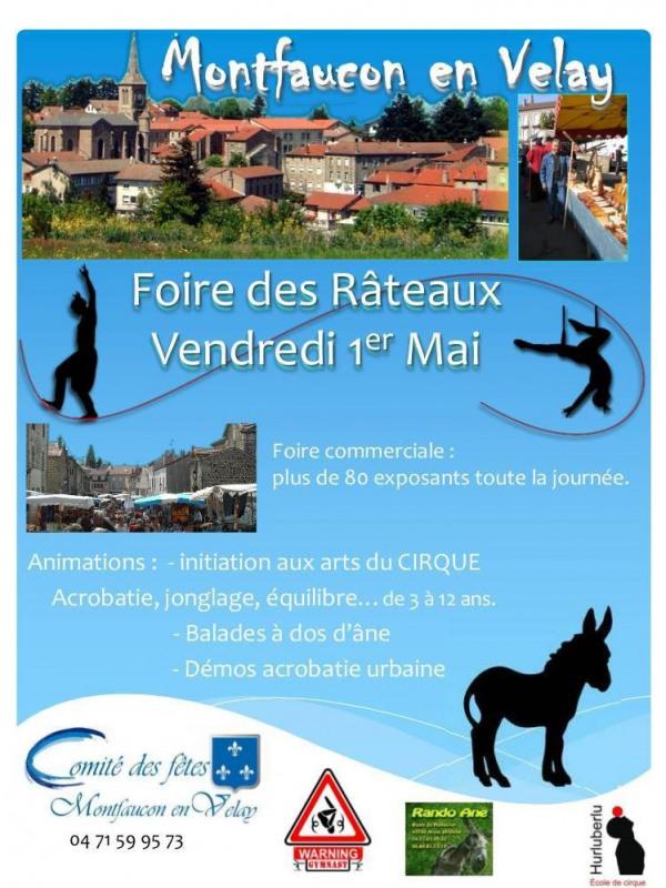 Montfaucon village de haute loire auvergne
