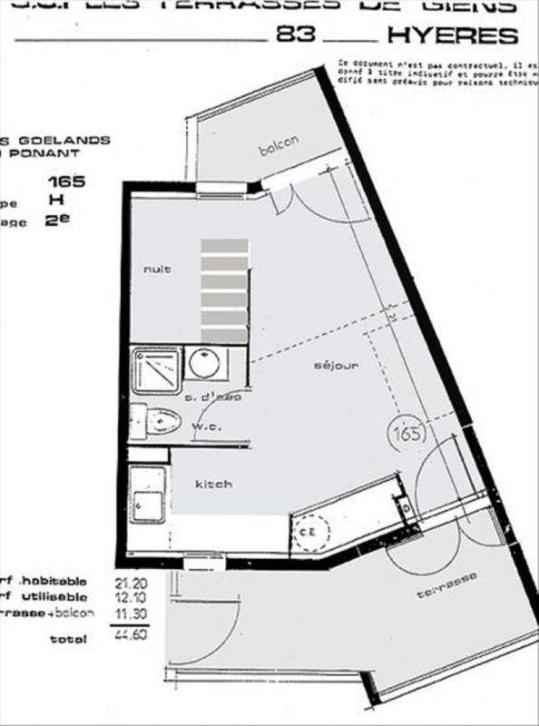 Vente appartement Giens 141000€ - Photo 6