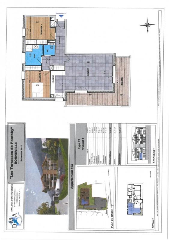 Vente appartement Bonneville 239000€ - Photo 2