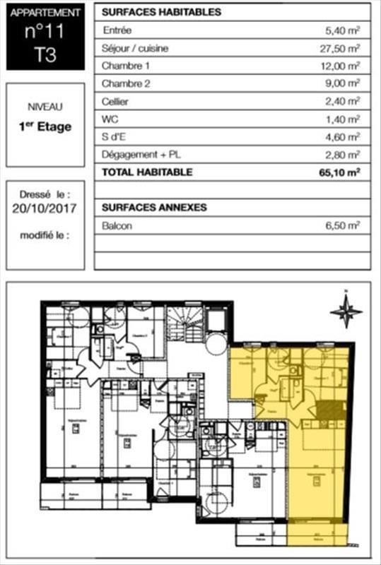 Sale apartment Auray 215000€ - Picture 3