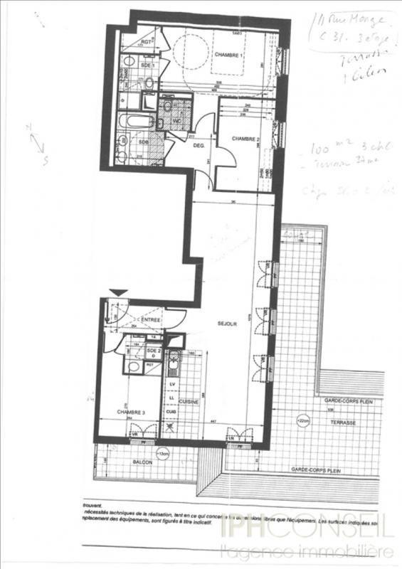 Location appartement Puteaux 3250€ CC - Photo 8