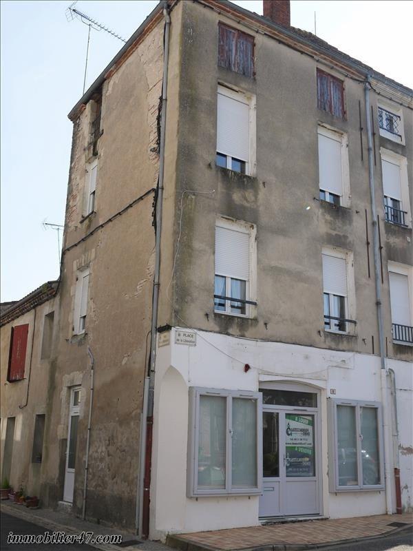 Vente immeuble Castelmoron sur lot 58800€ - Photo 2