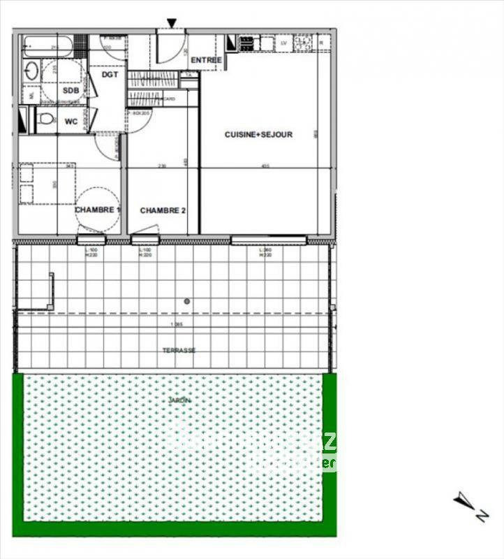 Vente appartement Etaux 238000€ - Photo 2