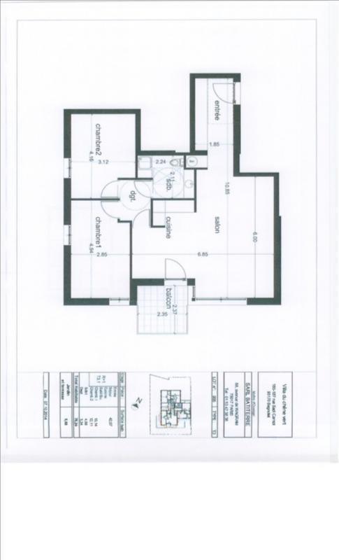 Vente appartement Bagnolet 342000€ - Photo 2