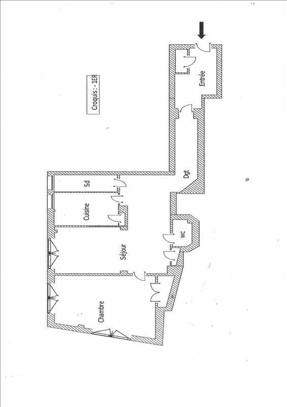 Vente appartement Lyon 2ème 290000€ - Photo 9