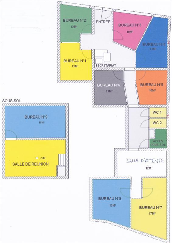 Venta  oficinas Nice 550000€ - Fotografía 1