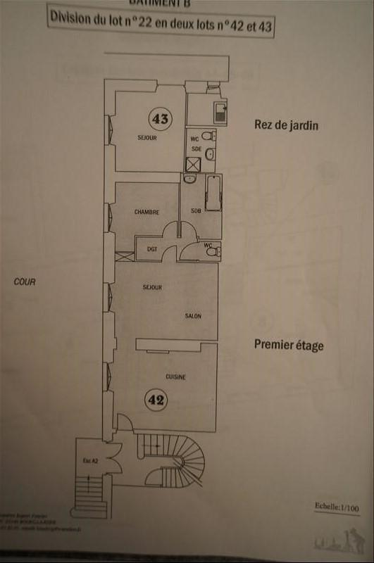 Vente appartement Bourg la reine 327000€ - Photo 2