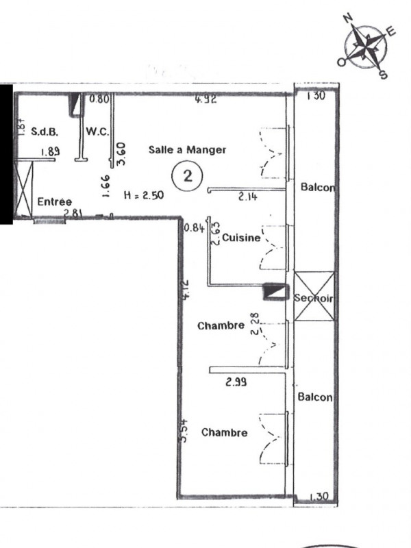 Sale apartment Suresnes 295000€ - Picture 7