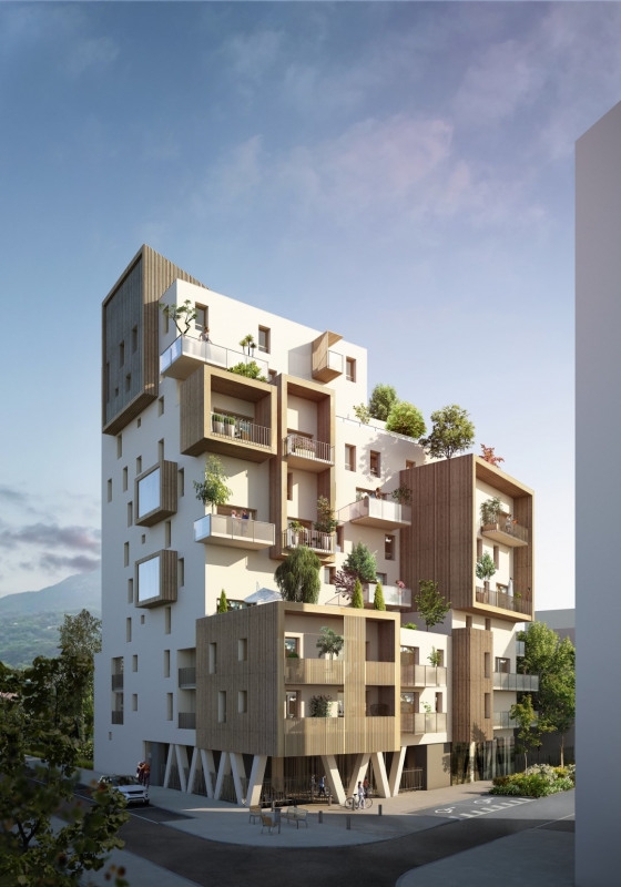 Vente de prestige appartement Grenoble 494500€ - Photo 2
