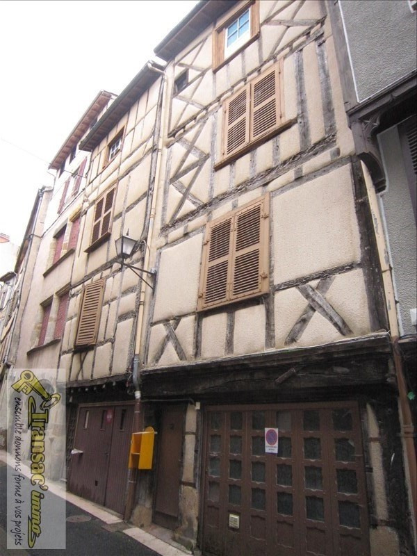Sale building Thiers 33 000€ - Picture 1