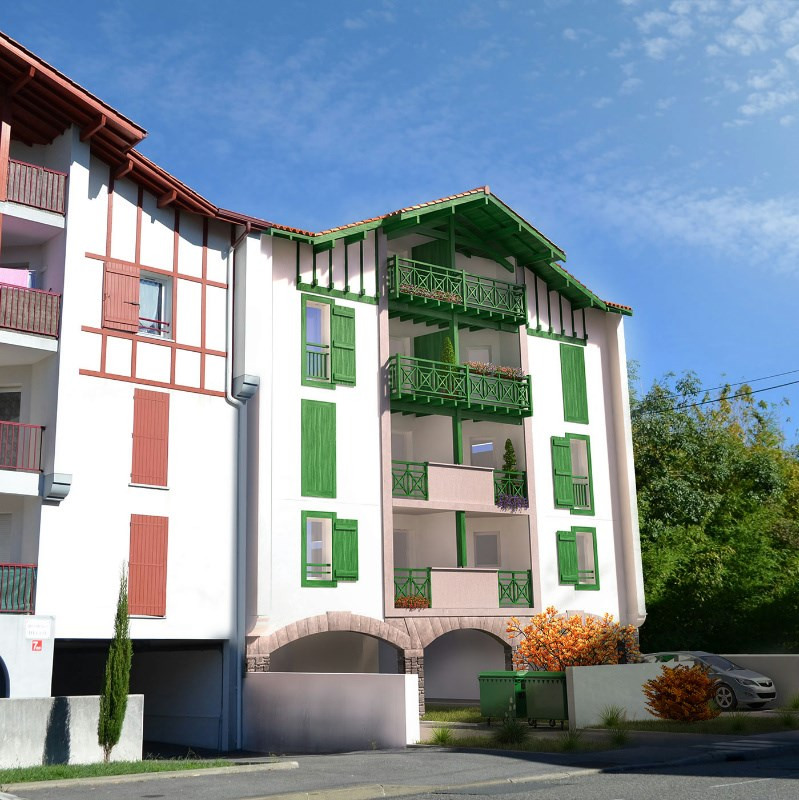 R sidence ostape programme immobilier neuf hendaye for Residence immobilier