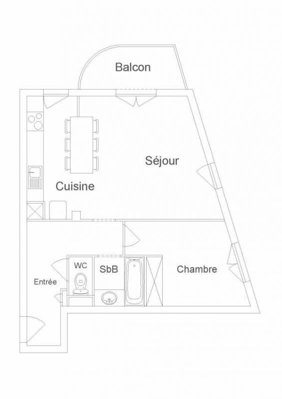 Sale apartment Courbevoie 384000€ - Picture 7