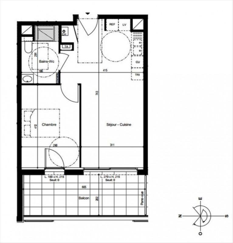Vendita appartamento Vetraz monthoux 283000€ - Fotografia 2