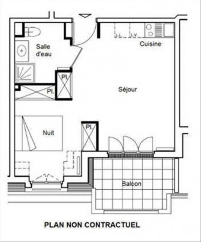 Sale apartment La garenne colombes 292000€ - Picture 2