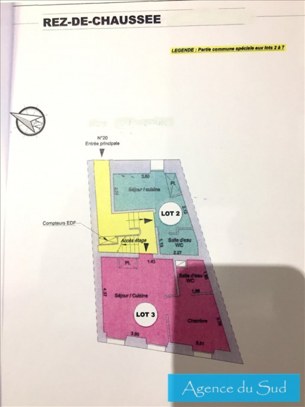 Produit d'investissement immeuble Aubagne 620000€ - Photo 2