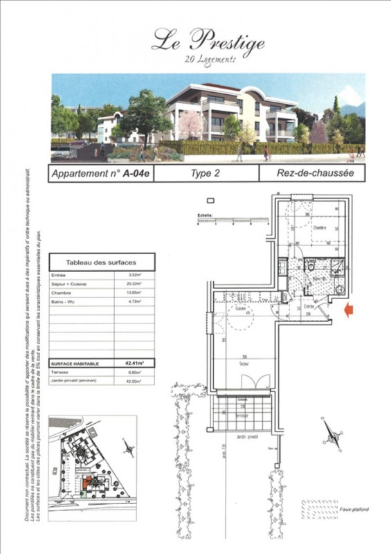 Sale apartment Faverges 169000€ - Picture 3